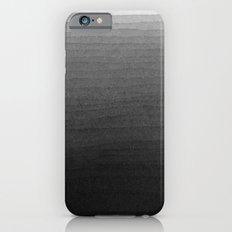 Black and White Ink Gradient Slim Case iPhone 6s