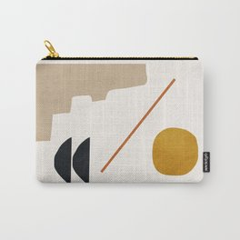 abstract minimal 6 Carry-All Pouch