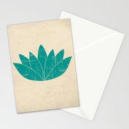 Lotus Art Print Stationery Cards