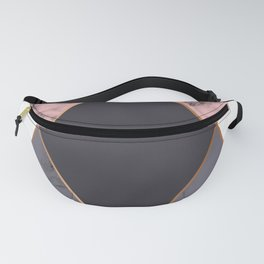 Marble Geometry 018 Fanny Pack