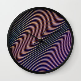 Fancy Curves II Wall Clock
