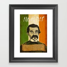 TF Meagher Framed Art Print