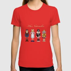 The Nutcracker Red Womens Fitted Tee SMALL