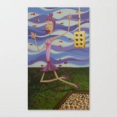 Floating Dancer Canvas Print