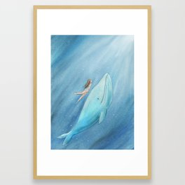 Just see the light Framed Art Print
