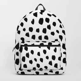 Hand drawn drops and dots on white - Mix & Match with Simplicty of life Backpack