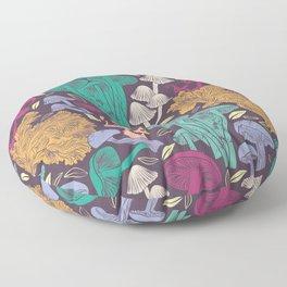 Delicious Autumn botanical poison Floor Pillow