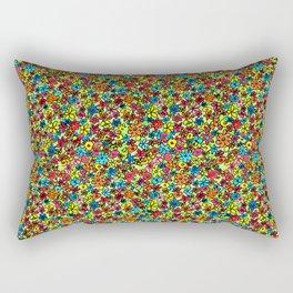 Flower doodles - hand drawn Rectangular Pillow