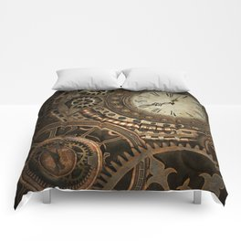 Steampunk Clockwork Comforters