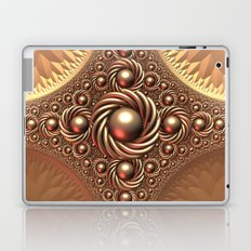 A Touch of Gold Laptop & iPad Skin