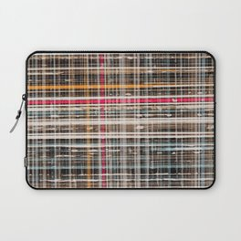 structure with red lines Laptop Sleeve