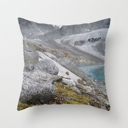 AK Pennyroyal Glacier Throw Pillow