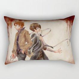 Undressing Your Wounds Rectangular Pillow