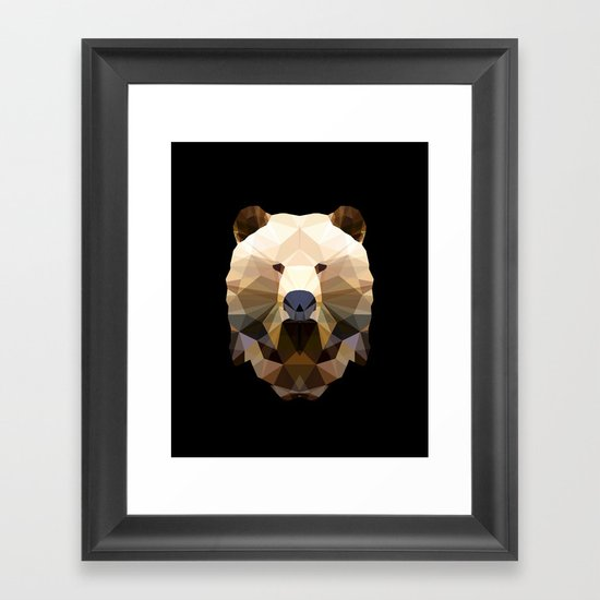 Polygon Heroes - The Lord Commander Framed Art Print