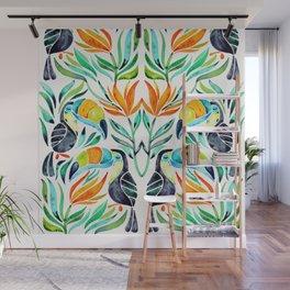 Tropical Toucans Wall Mural
