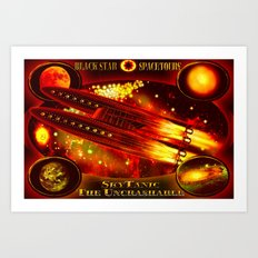 SkyTanic - 126 Art Print