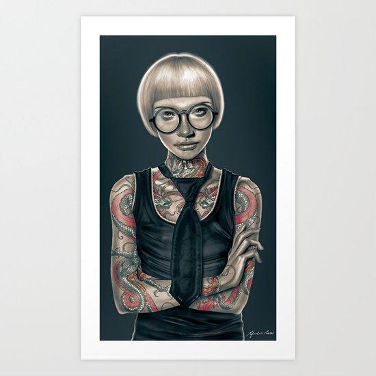 """""""Dragon's Mistress"""" Art Print"""