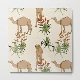 Savanna camel cactus Metal Print