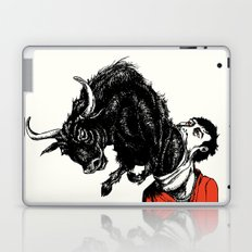 what is likely to happen when one is full of bull Laptop & iPad Skin