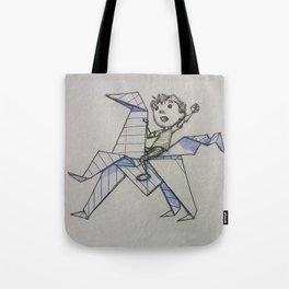 Doodle Boy Tote Bag