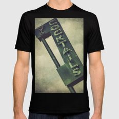 Cheers To Edith! MEDIUM Black Mens Fitted Tee