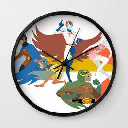 Gatchaman Wall Clock