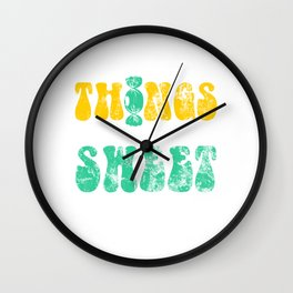 20b38e7050998a7c heavy weathered Wall Clock