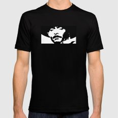 Lee van Cleef - Cowboy BD MEDIUM Mens Fitted Tee Black