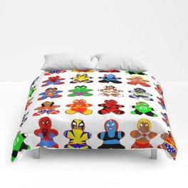 Superhero Gingerbread Man Comforters