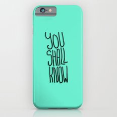 You Shall iPhone 6s Slim Case