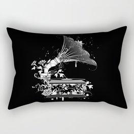 Nostalgic Gramophone Rectangular Pillow