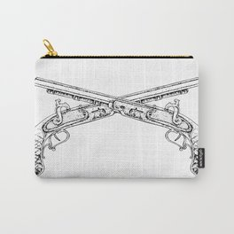 Double Pistols Carry-All Pouch