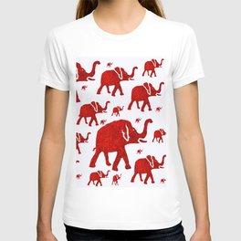 ELEPHANT Red #1 T-Shirt