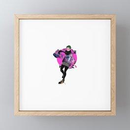 Nebula Framed Mini Art Print