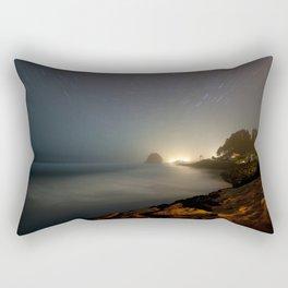 Neskowin Startrails Rectangular Pillow