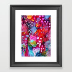 Flower Festival 2 Framed Art Print