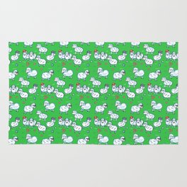Counting sheep Rug