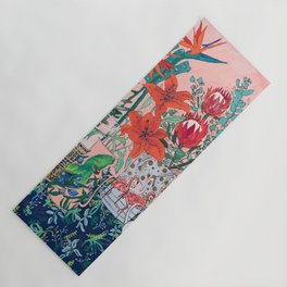 The Domesticated Jungle - Floral Still Life Yoga Mat