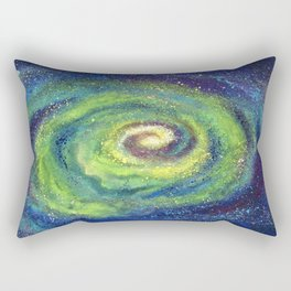 We Are The Light, Cosmic Series Rectangular Pillow