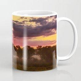 Sunrise above Land of the Leopard Coffee Mug