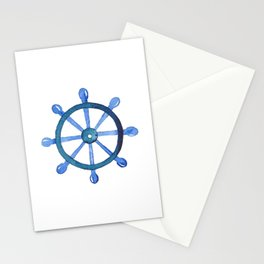Navigating the seas Stationery Cards