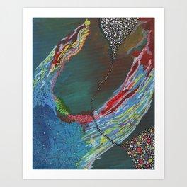 Grab Art Print