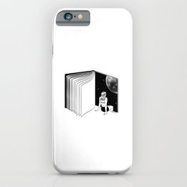 Reading is Dreaming with Your Eyes Open iPhone Case