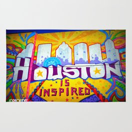 Houston is Inspired Rug