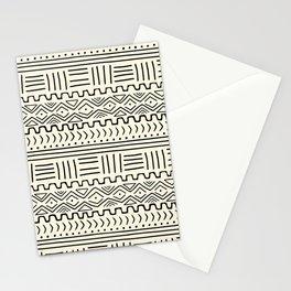 Mud Cloth on Cream Stationery Cards