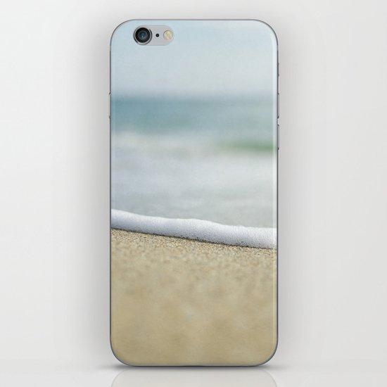 Sea Foam Beach iPhone & iPod Skin