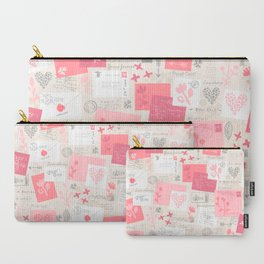 Love Letters Carry-All Pouch