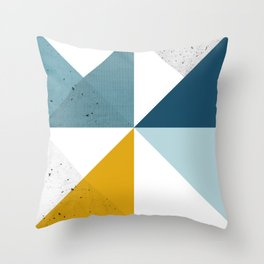 Modern Geometric 18 Throw Pillow