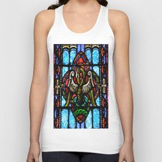 Rising From Glass Unisex Tank Top