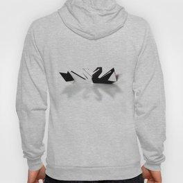Origami Swan Hoody